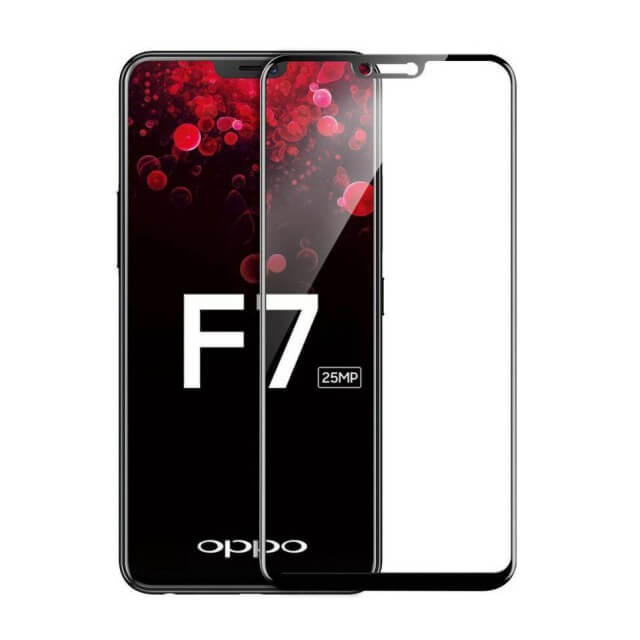 Oppo F7 6D Tempered Glass Screen Guard