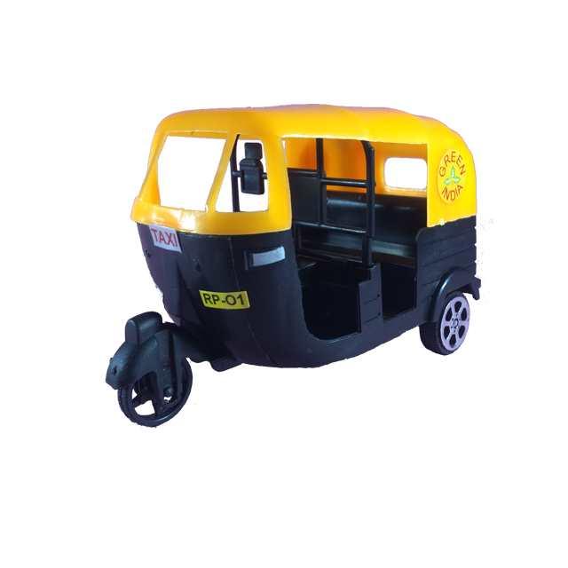 Super Taxi Auto Rickshaw Toy For Kids