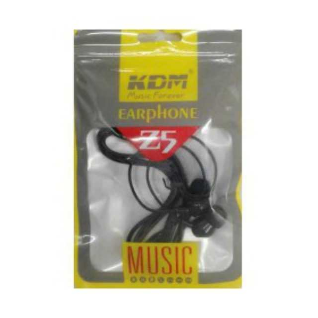 Stereo Black 3.5mm Earphone (Hifi Sound Effect) – KDM Z5