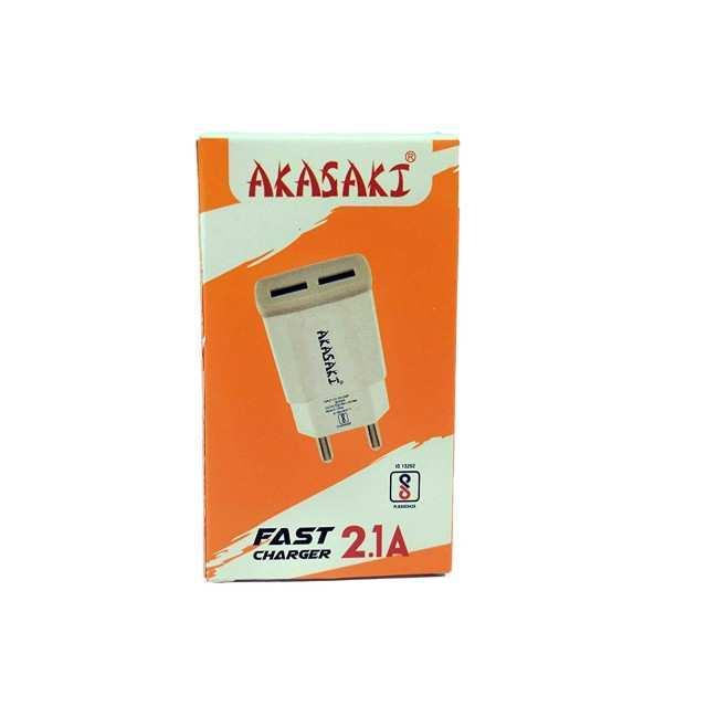 USB Charger Adapter 5V-2.1A Output – Akasaki