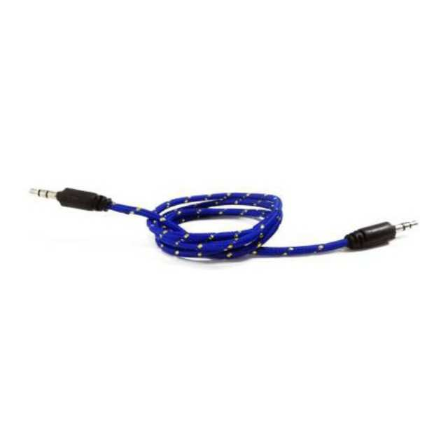 Blue AUX Cable 3.5mm to 3.5mm Itouch Pro