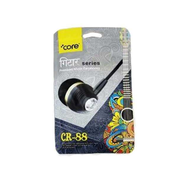 Premium Music Earphones 3.5mm – Core CR-88